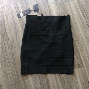 """""""Simone"""" body con black skirt"""